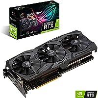 ASUS ROG-STRIX-RTX2060-O6G-GAMING - Tarjeta gráfica (GeForce RTX 2060, 6 GB, GDDR6, 192 bit, 14000 MHz, 7680 x 4320 Pixeles)