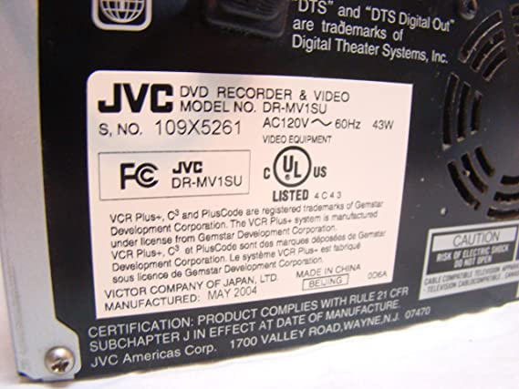 amazon com jvc dr mv1su dvd recorder hi fi vhs vcr combo dual rh amazon com jvc dr mv1s manual pdf Nissan MV-1