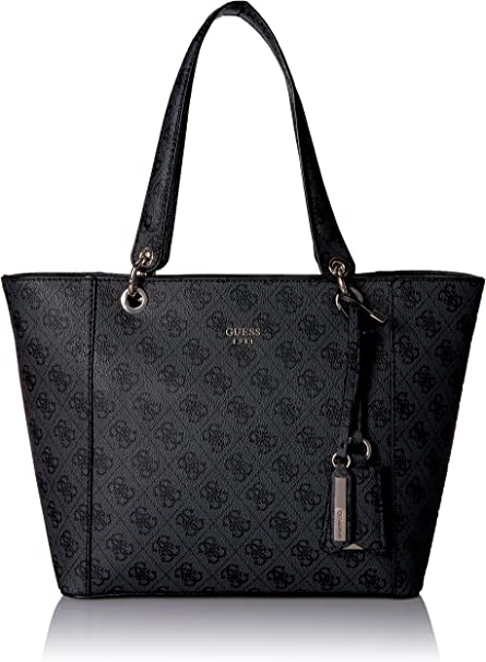 Guess Hwsc6691230, Borsa a mano Donna, Multicolore (Coal