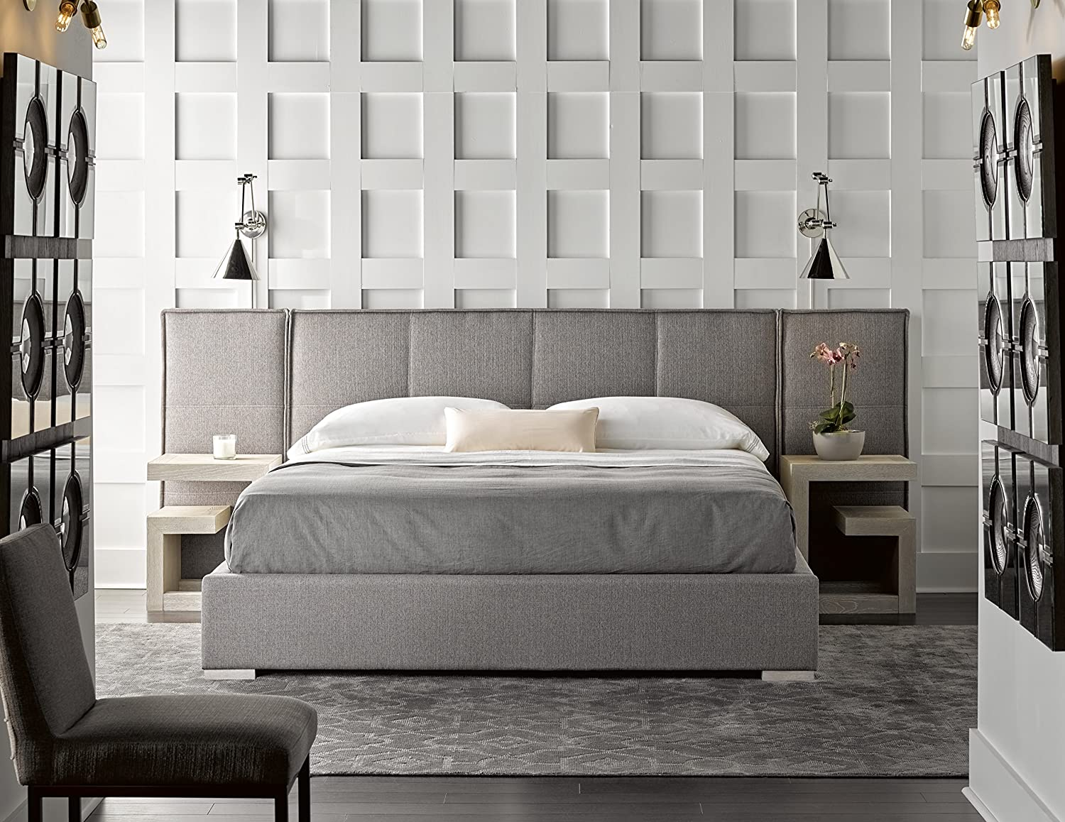 Amazon.com: Universal Furniture 645270BW Connery Bed Complete 60 with Panels Bronze: Kitchen & Dining