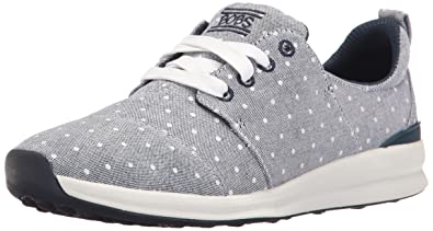Skechers BOBS From Women's Phresh-Phresh Flowers Fashion Sneaker, Navy Dot,  ...
