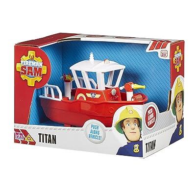 Character Options Fireman Sam Titan Vehicle: Toys & Games