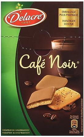 DELACRE Café Noir 200 g , Lot de 4