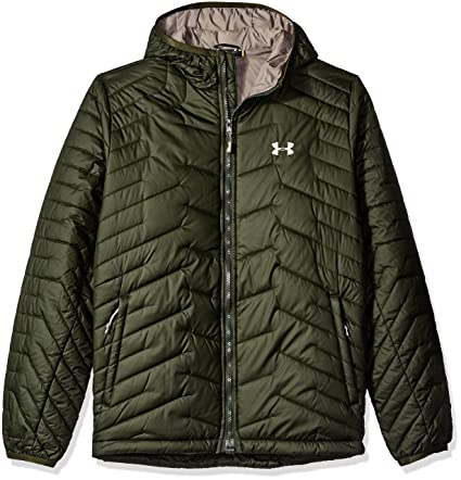 huge discount 77112 49172 Amazon.com  Under Armour Men s ColdGear Reactor Hooded Jacket  Clothing