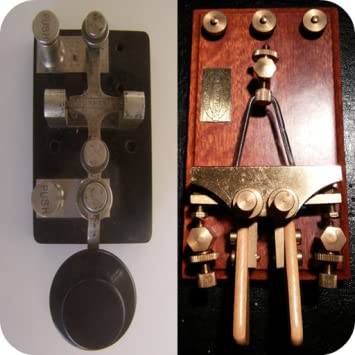 2 Amateur Ham Radio CW Morse Code Practice Oscillators - straight key and  iambic paddle