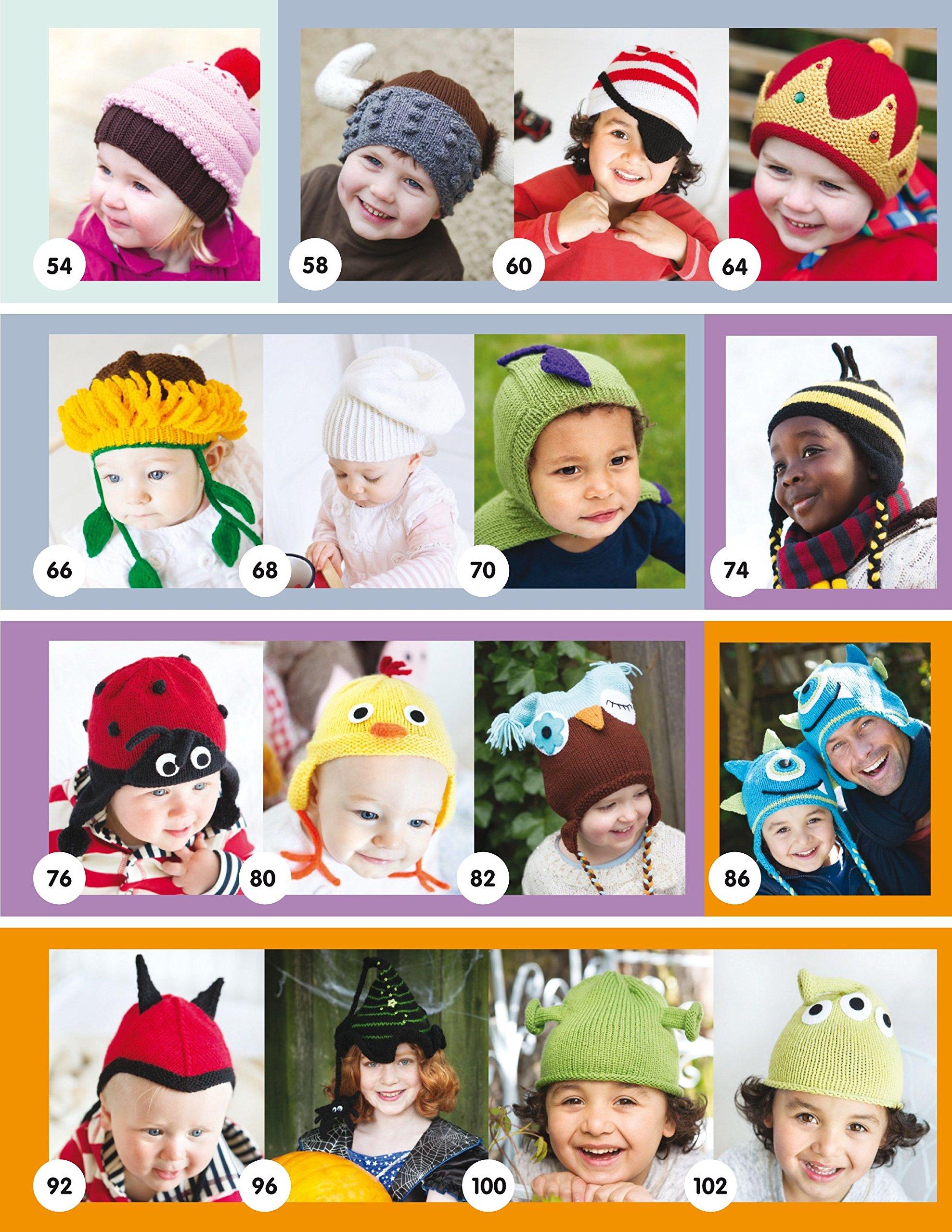 fe6c7551c57f2 Divertidos Gorros De Punto Para Niños (El Libro De..)  Amazon.es  Lynne  Rowe