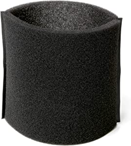 CRAFTSMAN CMXZVBE38765 Wet/Dry Vac Foam Sleeve, Wet Filter for Shop Vacuums