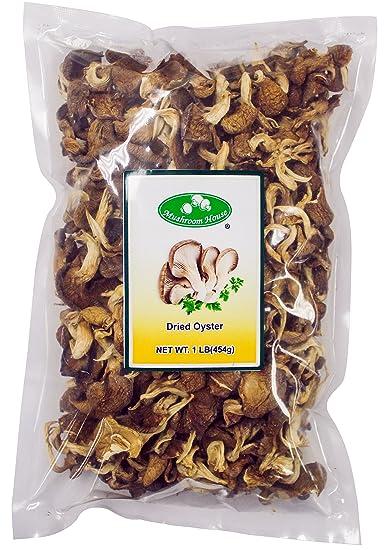 Mushroom House Dried Oyster Mushrooms, 1 Pound