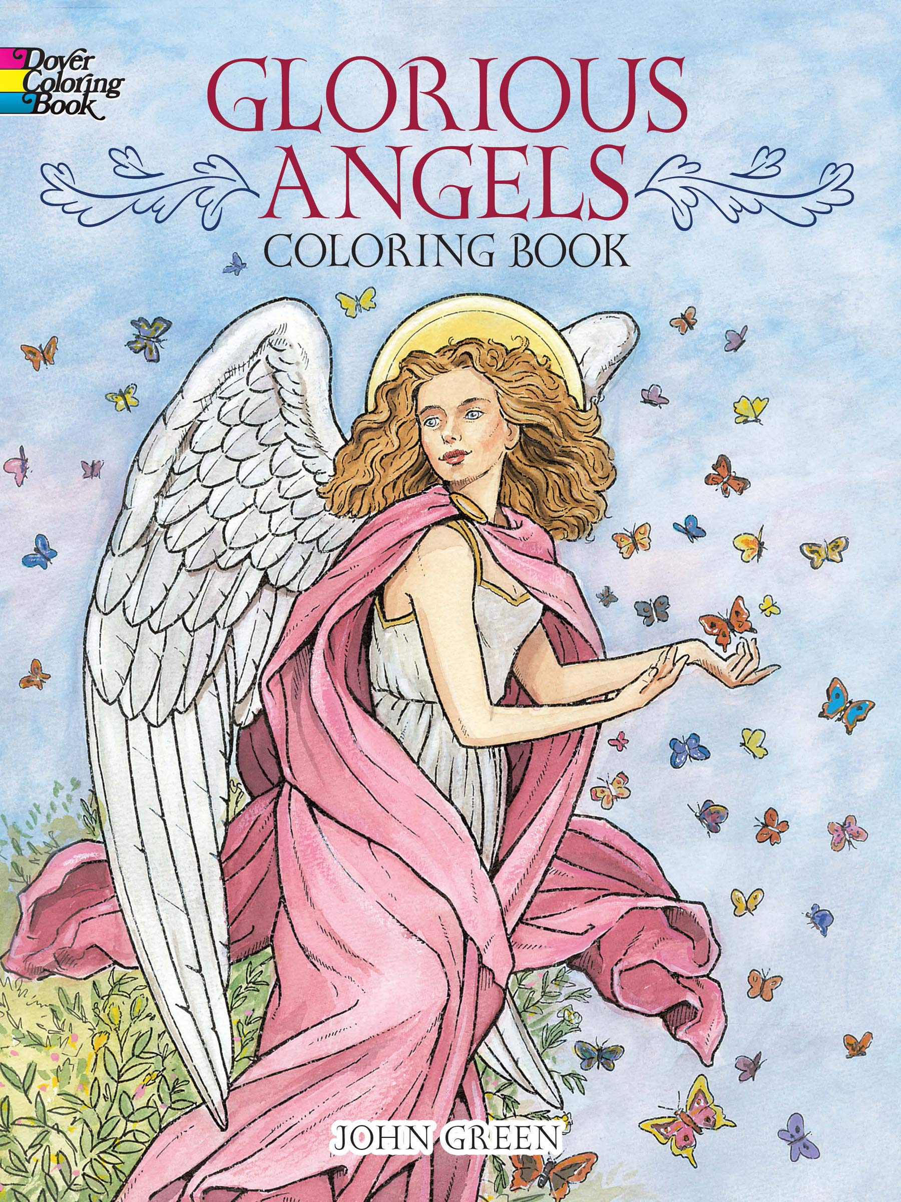 Glorious Angels Coloring Book (Dover Coloring Books): John ...