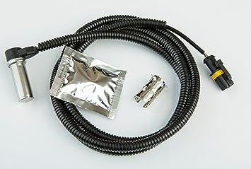 Frontal derecho ABS sensor de velocidad de la rueda para camiones MAN TGA, TGL, TGM, TGS, TGX Bush Cable: Amazon.es: Coche y moto