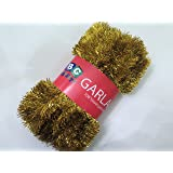 """Extra large Gold Foil Tinsel Christmas Garland 708"""" (59 Feet) By Blue Green Novelty"""