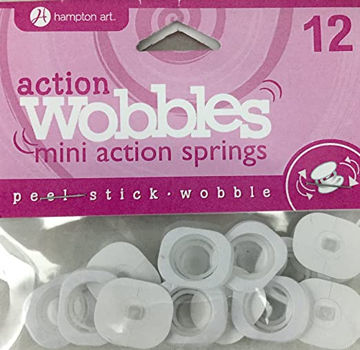 Hampton Art Mini 12pc Action Wobbles Fоur Расk