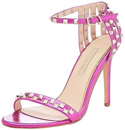 Primadonna Sandalo Scarpe con Cinturino alla Caviglia Donna Nero 37 EU