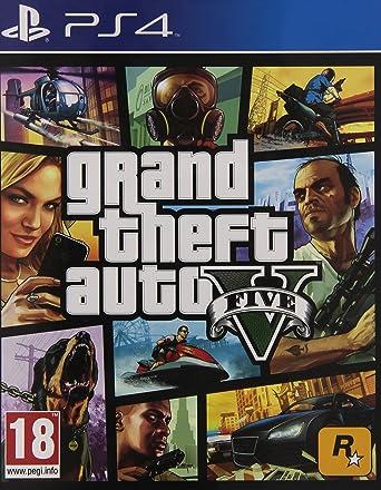 Take-Two Interactive Grand Theft Auto V, PS4 Básico PlayStation 4 vídeo - Juego (PS4, PlayStation 4, TPS (tercera persona tiradora), Modo multijugador, M (Maduro)): Amazon.es: Videojuegos