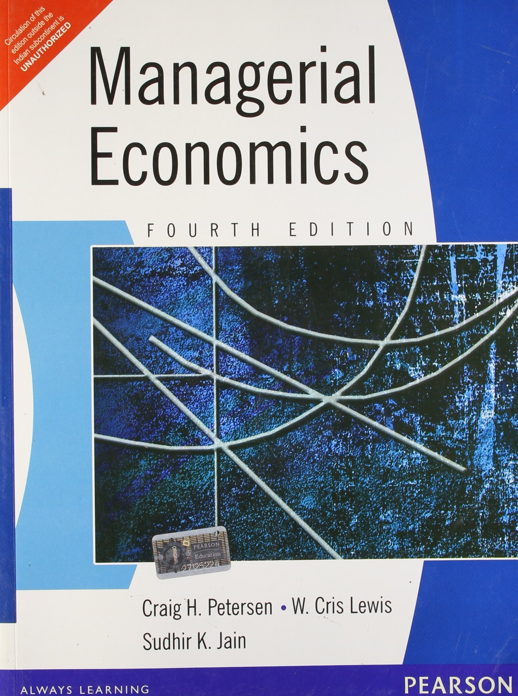 Managerial economics 4e amazon peterjain books fandeluxe Choice Image