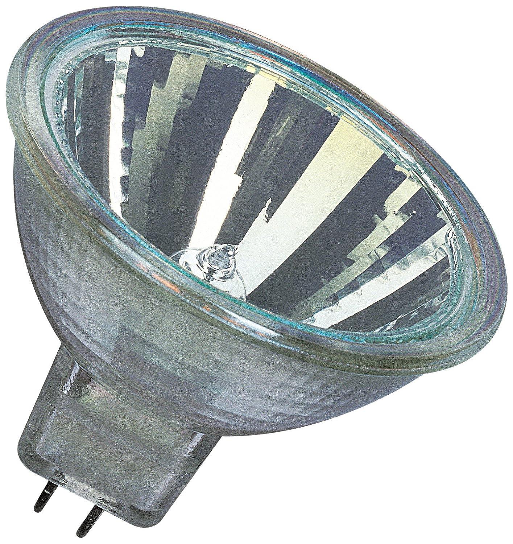 Osram 10-er Set Decostar EEK C 51s 12 Volt 35 Watt Sockel Gu5,3 36 Halogenlampe mit Kaltlichtspiegelreflektor und Abdeckscheibe, Durchmesser 51 mm 44865WFL 0600-3530o#10#Dan