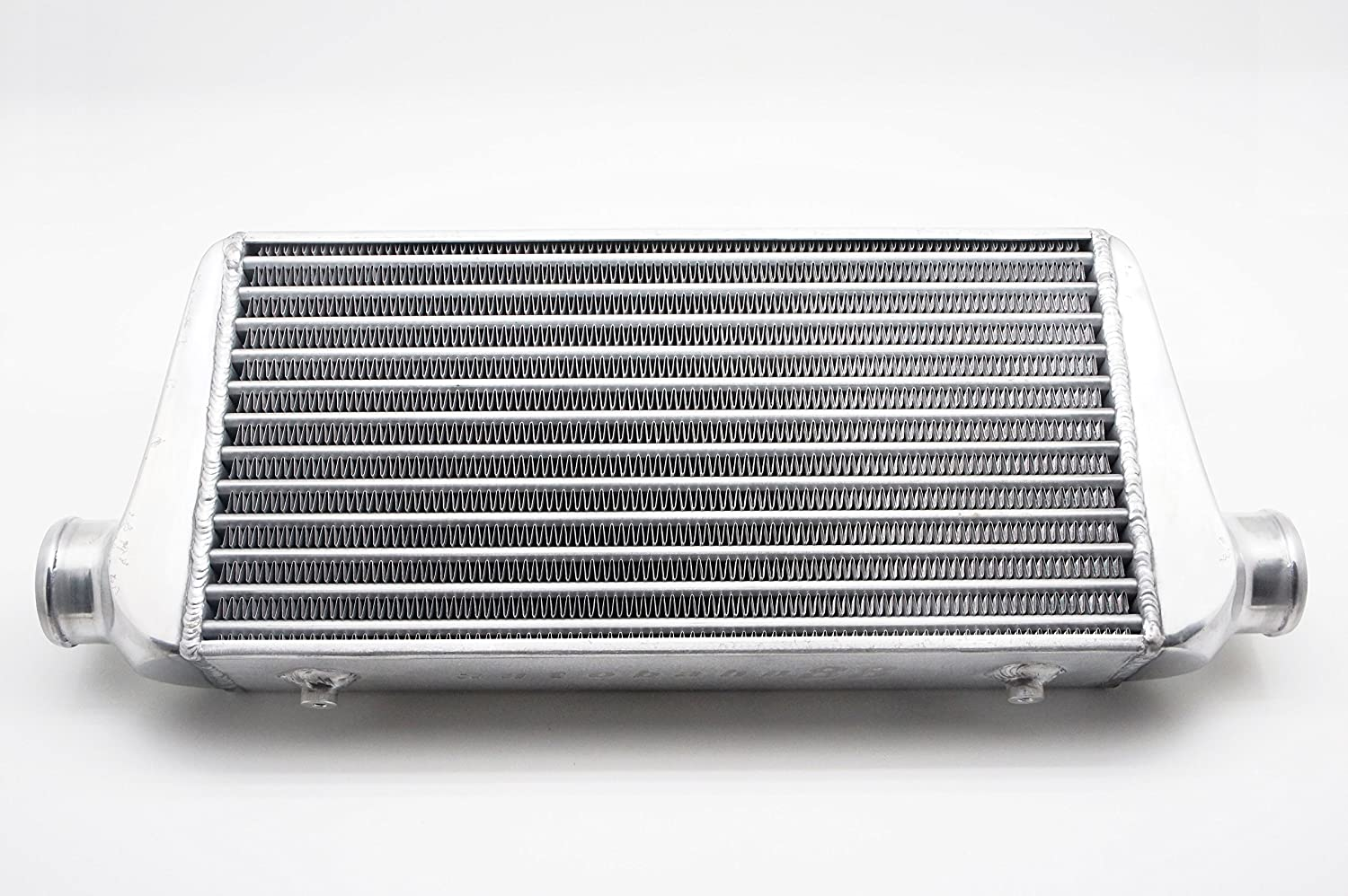 450x300x75mm Aluminum Universal Front-Mount Turbo Intercooler FMIC For Inlet Outlet 76mm 3 Pipe Tube Bar /& Plate Heat Exchanger Intercooler