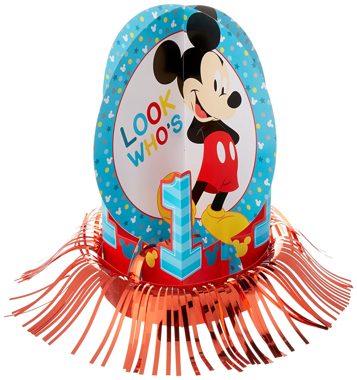 amscan Disney Mickeys Fun to be One Table Decorating Kit Birthday