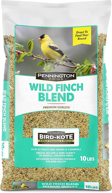 Pennington Pride Wild Finch Blend Wild Bird Seed , 10 lb