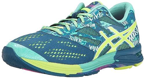 Asics Gel Noosa Tri 10 Zapatillas de la Mujer, Color Azul