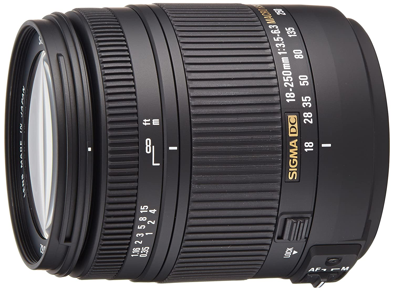 Sigma Objetivo para Sony Minolta distancia focal mm apertura f  zoom
