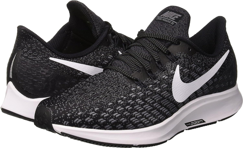 Nike Air Zoom Pegasus 35, Scarpe da Running Donna, Nero