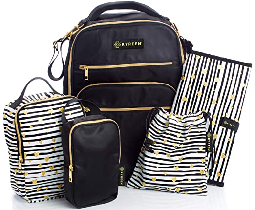 The Kyreen Diaper Bag Travel Backpack travel product recommended by Will Hatton on Lifney.