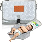 Baby Diaper Changing Pad - Portable Waterproof Diaper Changing Mat - Folding Diaper Changing Station - Travel Diaper…