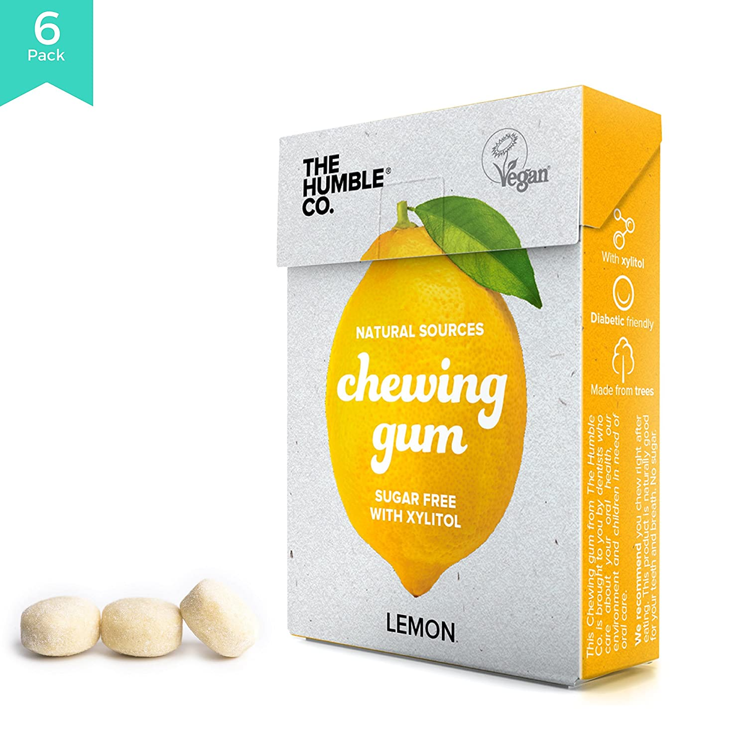 The Humble Co. Natural Chewing Gum