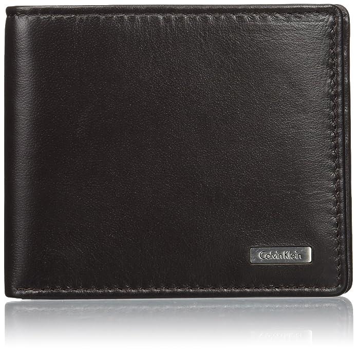 351b28270 Calvin Klein Men's Rail Slimfold 8Cc Money Clip, Black, 9x1.5x10.5 cm (W x  H x L): Amazon.co.uk: Shoes & Bags