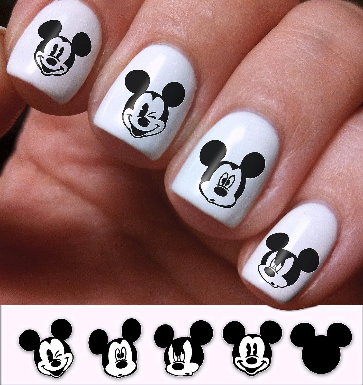 Nail Art Decals Set 3d bricolaje Mickey Mouse Disney dibujos ...