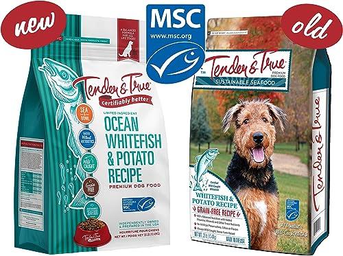 Tender True Ocean Whitefish Potato Recipe Dog Food