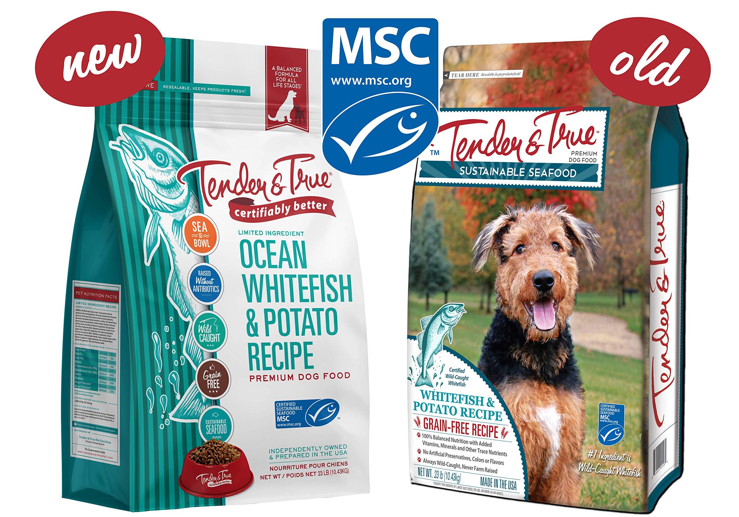 Tender & True Ocean Whitefish & Potato Recipe Dog Food, 23 lb by Tender & True Pet Nutrition