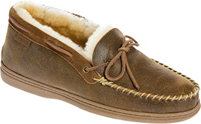 64d8fc3d8 Image Unavailable. Image not available for. Color  Men s Blake High-Back  Merino Sheepskin Moccasin Slippers