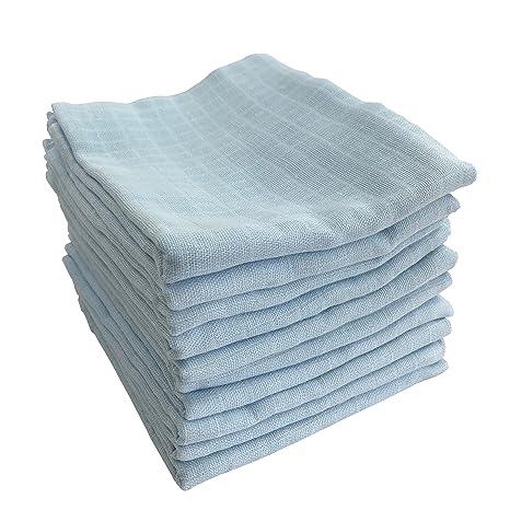 m.m.c. 10 Pack Gasas | para Vómitos Toallas 100% algodón – Pañales de tela &
