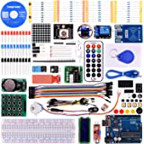Longruner Uno Learning Kit with A Power Supply 9V-1A For Arduino With Tutorial