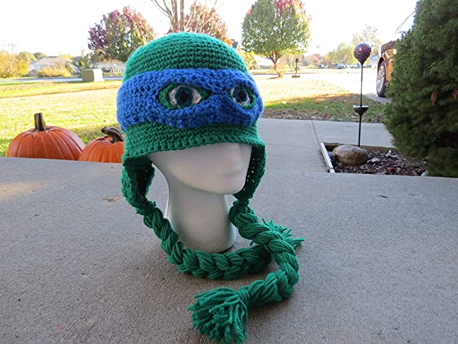 7541e5223 Amazon.com: Teenage Mutant Ninja Turtles Inspired Hat | Ninja ...