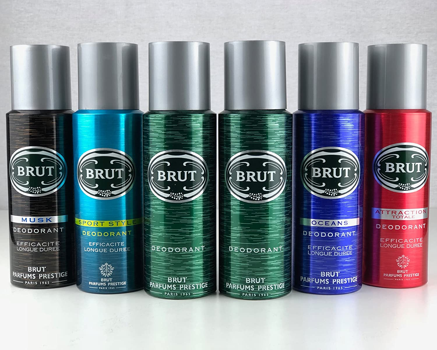 Brut Body Spray Deodorant Bundle 6 X 200ml 2 X Original 200ml 1 X