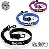 NeoPet Hundegurt fürs Auto, 2 Größen für große und kleine Hunde, Hunde-Sicherheitsgurt, Hunde-Anschnall-Gurt, Hund-Auto-Gurt zum anschnallen für die Rückbank