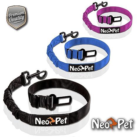 NeoPet Cinturón de Seguridad para Perros Grandes y Pequeños asi como Gatos en el Coche,