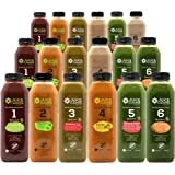 Cold Pressed 3 Day Juice Cleanse - Natural Detox – Plant Based – Healthy Vegan Diet – Fresh Raw Green Vegetables – Enhances I
