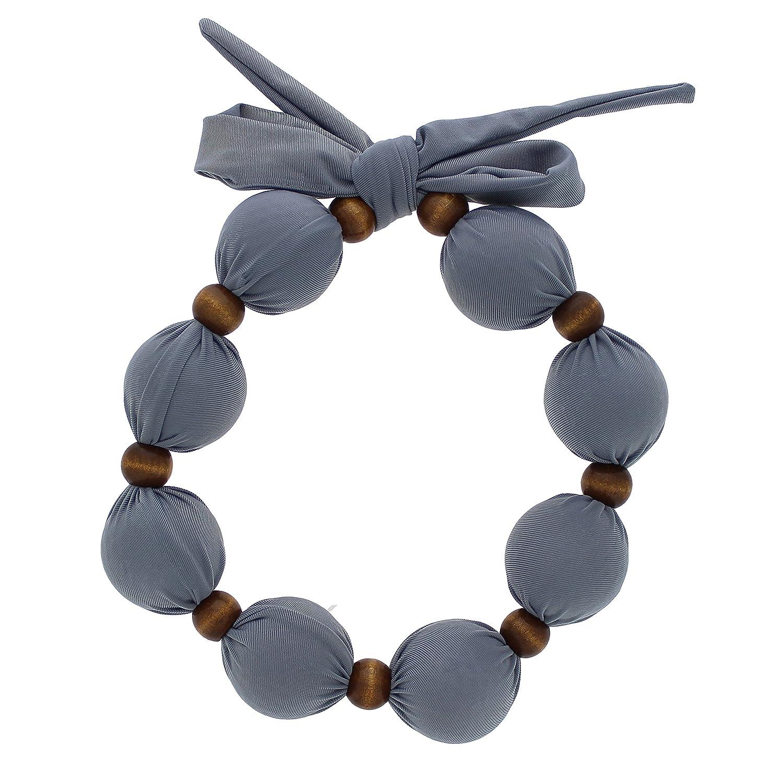 Kühlende Halskette, um der Hitze mit Stil zu entkommen – genießen Sie stundenlang die kühle Erleichterung! -Grau