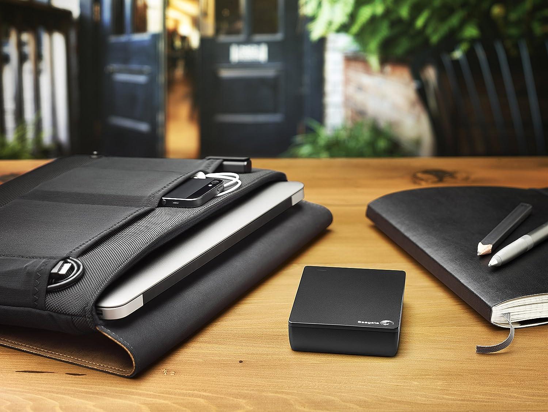Seagate Backup Plus Slim 1TB Portable External Hard Drive USB 3.0 STDR1000100 Black