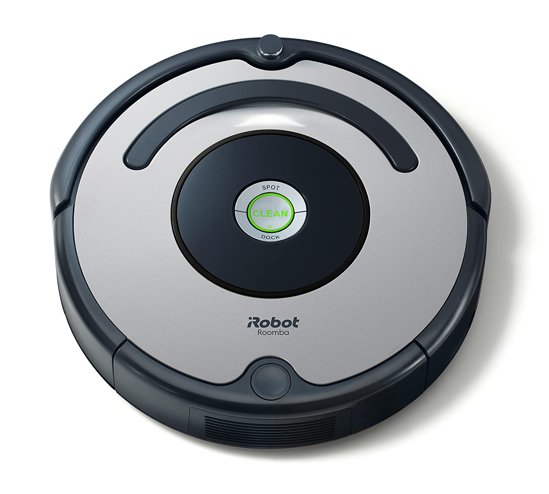 iRobot Roomba 615 Robot Aspirapolvere, Sistema di Pulizia ad Alte Prestazioni, Adatto a Pavimenti e Tappeti, Ottimo per i Peli Degli Animali Domestici