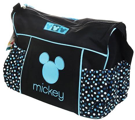 Disney Mickey Mouse - Bolso cambiador de viaje para bebé ...