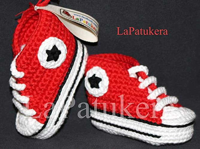 converse baby schuhe rot