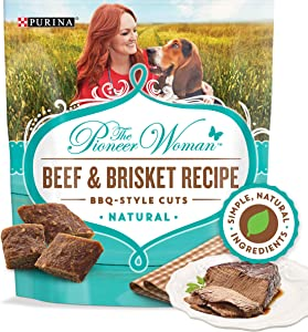 The Pioneer Woman Grain Free All Natural BBQ Style Cuts Meaty Dog Treats