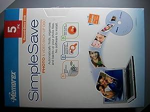 Memorex SimpleSave Photo & Video Back-Up Disc - 5 Pack