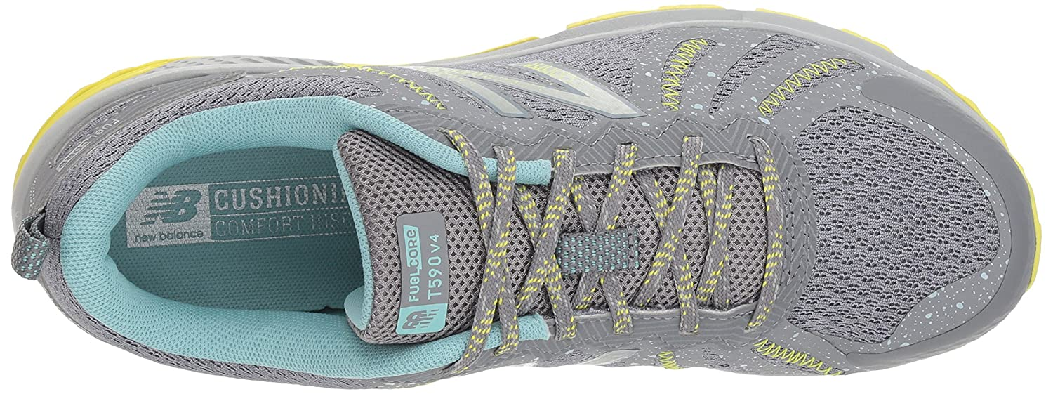 New Balance Women's 590v4 FuelCore Trail Running Shoe B075R7J4NQ 8.5 D US|Gunmetal