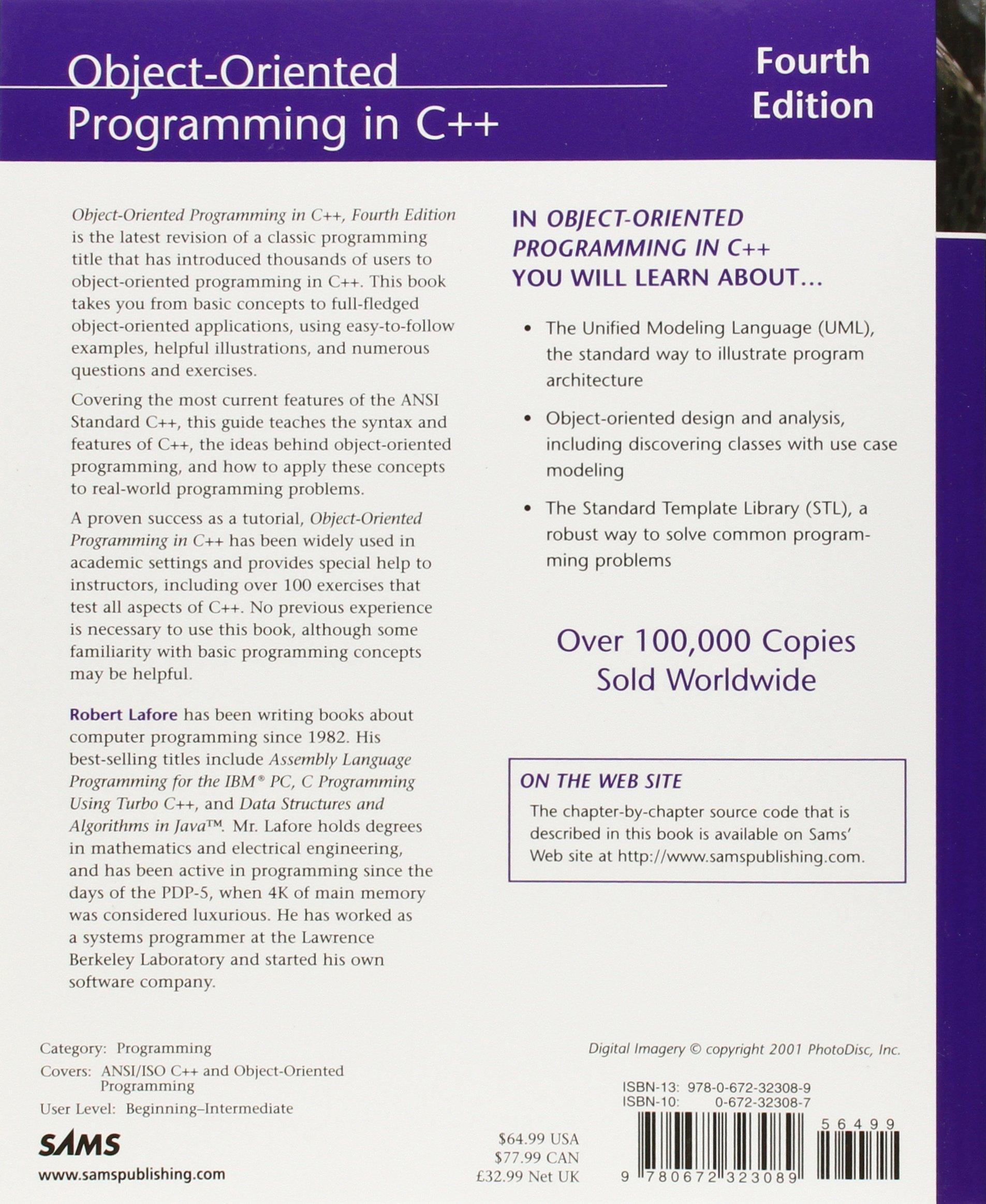 Object oriented programming in c kaleidoscope amazon object oriented programming in c kaleidoscope amazon robert lafore 9780672323089 books baditri Image collections